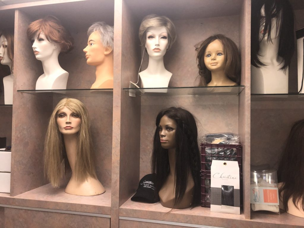Image of wigs on Eldorado Hair website