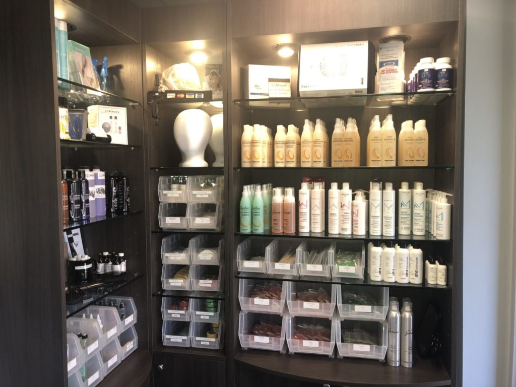 Image of products at Eldorado Hair Replacement